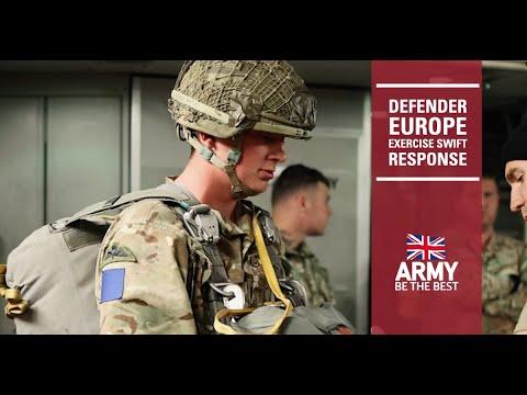 Defender Europe 21 | Exercise Swift Response | British Army