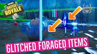 Consume GLITCHED Foraged Items Location! Fortnite Junk Storm Challenges Season X