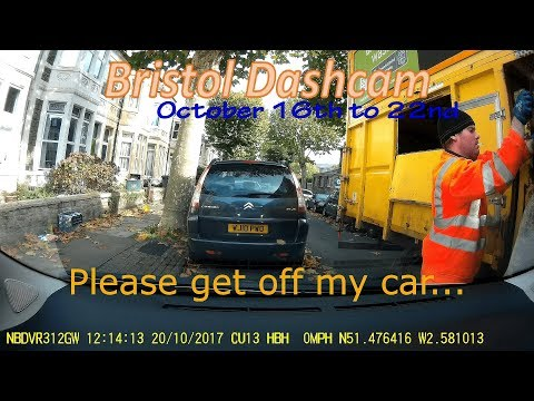 Road Trip/Bristol Dashcam: October 16th to 22nd