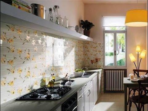 Desain Kramik Dinding Dapur Motif Buah