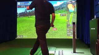 카카오 프렌즈 스크린 골프 T2 처음 쳐봤네요. 아쉬운…