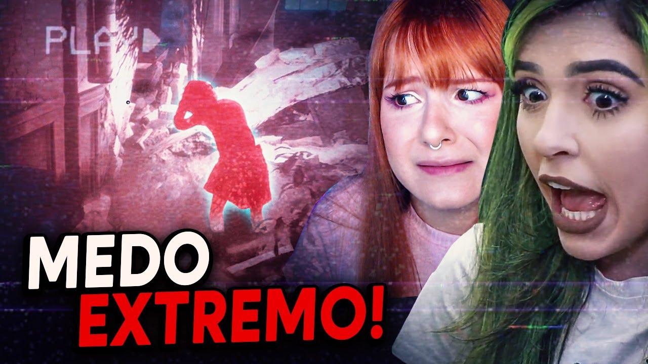 ELAS SENTIRAM MUITO MEDO DESSE JOGO DE TERROR!
