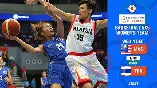 BASKETBALL SEAGAMES 2019 (WOMENS) THAILAND VS MALAYSIA  04 December 2019