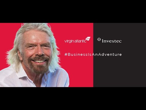 Business Is An Adventure with Sir Richard Branson
