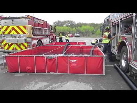 Part 2 - Rural Water Supply Drill - District 7 Fire Rescue, Texas - April 2014