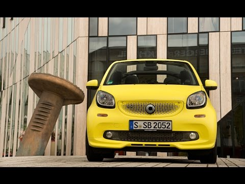 2017 Smart Fortwo Brabus : The latest Smart gets an attitude