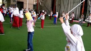 latihan drumb band sd muhammadiyah 15 surabaya