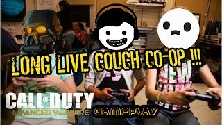 Call of Duty Advanced Warfare : Couch Co-op , Gameplay & Funny Moments