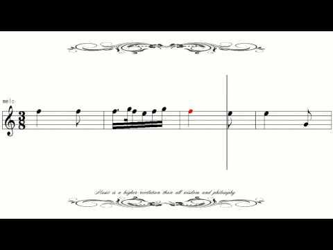 [Sheet Music] Verdi La Traviata