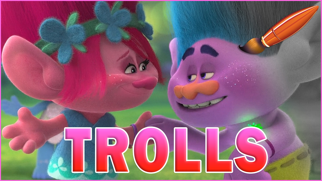 Trolls Movie Hug Time Coloring Pages