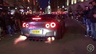 the loudest nissan gt r r35 in london