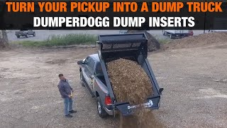 Turn Your Pickup Into a Dump Truck with a DumperDogg® Dump Insert