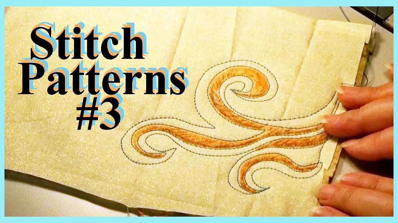 And 8 More Stitch Patterns for Creative Sewing (SP#3) | Wall Flowers ...