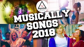 Top 50 Hits Of Musiclly Songs 2018 - FKO
