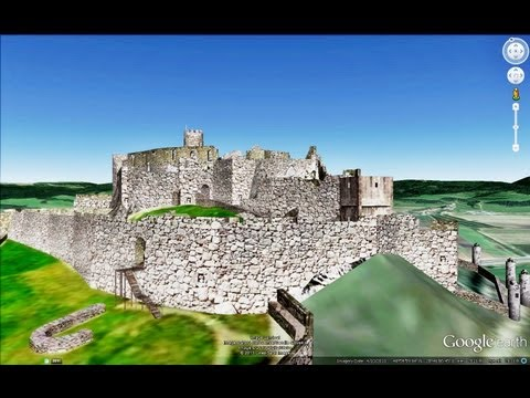 HISTORICAL PLACES OF SLOVAKIA IN GOOGLE EARTH PART TWO ( 2/5 )