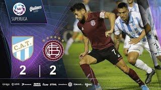 Fecha 21: resumen de Atlético Tucumán - Lanús