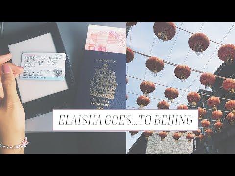 Elaisha Goes...to Beijing | Bullet train Shanghai to Beijing