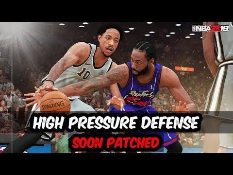 HIGH PRESSURE DEFENSE - NBA 2K19 DEFENSE TUTORIAL.
