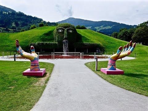 Swarovski Crystal World, Wattens - Walkthrough │Swarovski Kristallwelten - Wattens, Austria