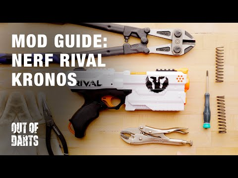 Mod guide: Nerf Rival Kronos w/ Custom K26