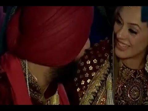Watch inside video of cricketer Yuvraj Singh and Hazel Keech's wedding ceremony