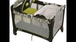 GRACO PACK N PLAY PLAY YARD WITH REVERSIBLE NAPPER AND CHANGER