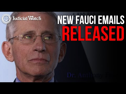"Emails: Fauci Deputy Asked to Sign Confidentiality Form ""Tailored To China's Terms"""