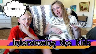 What Do Our Kids Think About The New Baby? Sibling Interview / The Beach House
