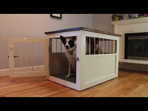DIY Dog Kennel From 2x4's