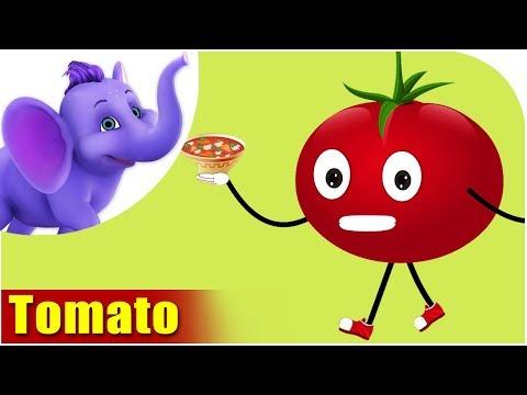 Tamaatar (Tomato) - Vegetable Rhymes in Hindi