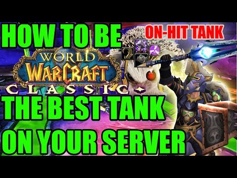 So you want to Tank in Classic WoW? How to DOMINATE as a Tank in Vanilla.