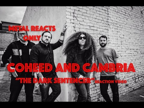 "COHEED AND CAMBRIA ""The Dark Sentencer"" Reaction Video 