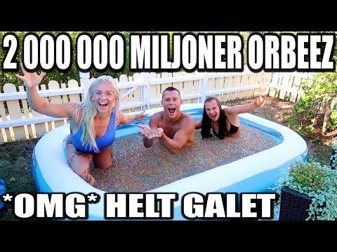 BADAR I 2 MILJONER ORBEEZ *HELT GALEN UPPLEVELSE*