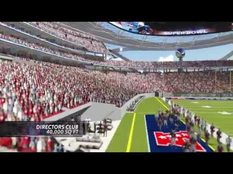 Los Angeles NFL Stadium pitch