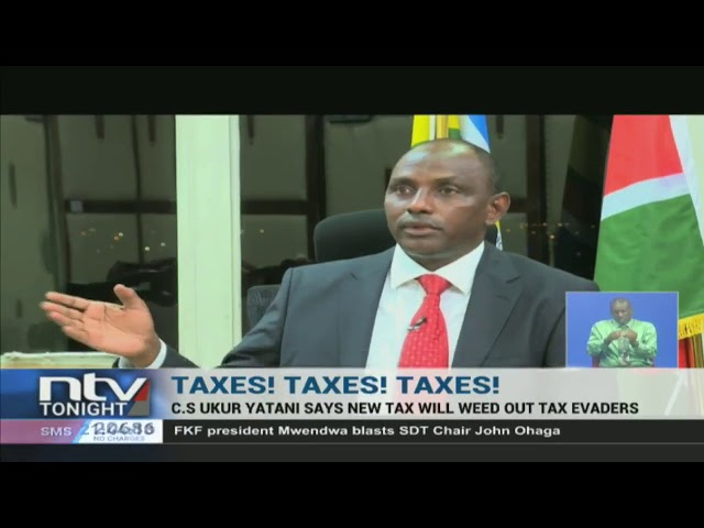 CS Yatani defends proposal to introduce Minimum Tax at 1% of turnover