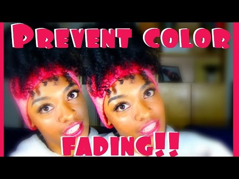 How to Keep (Black) Hair Dye From Fading! - Aveda Black Malva Color Conditioner Review