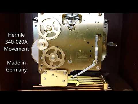 Hermle Austen Chiming Keywound Mantel Clock