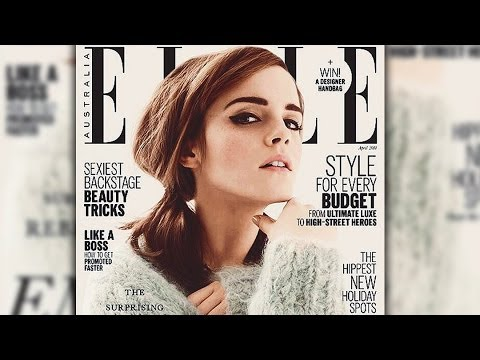 Thumbnail: Emma Watson Talks Dating Non Celebs & Getting Drunk at School- ELLE