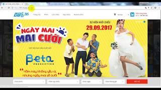 [VTC Pay] Hướng dẫn mua vé xem phim trên website 365.vtcpay.