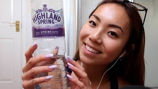 Unintelligible Whispering and Tapping on Random Objects with Long Acrylic Nails ASMR Triggers
