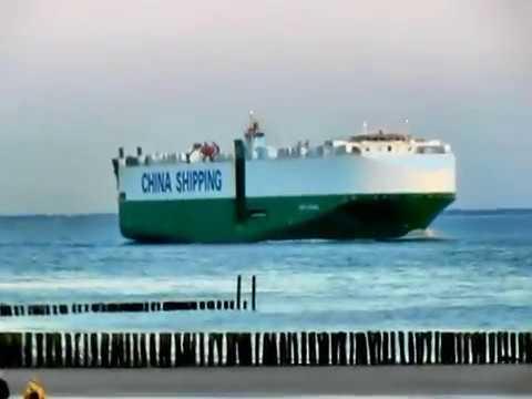 Auto-Frachter -Auto Carrier Schiff- CSCC SHANGHAI