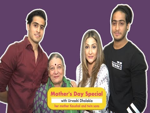 Mother's Day Special with Urvashi Dholakia, her mother Kaushal and her twin sons Kshitij and Sagar