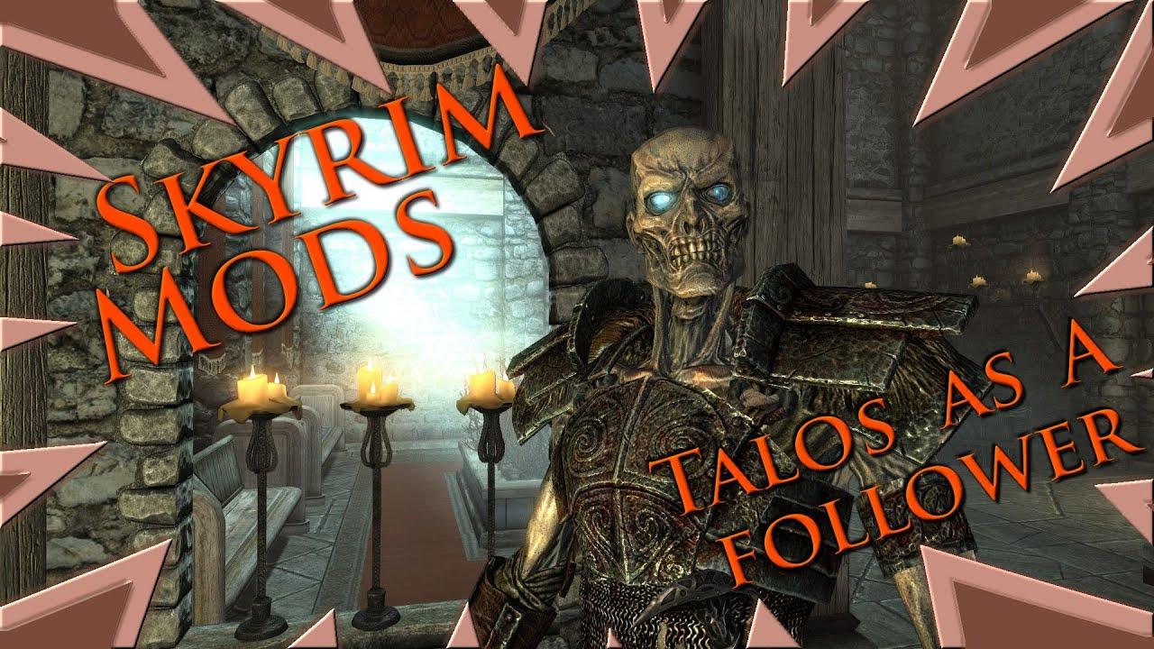 MOD : Skyrim - Playable Creature Pack - YouTube