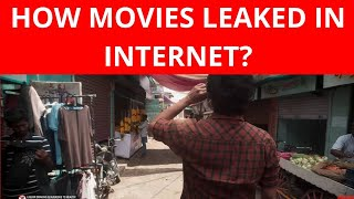 How do new movie get leaked in internet before Theater?| Tamil Rockers |Master movie intro leaked  |