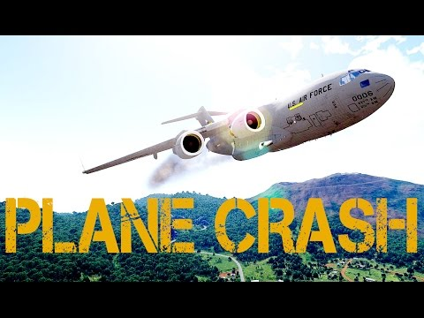 Arma 3 - PLANE CRASH, NUCLEAR EXPLOSIONS, AND MARINES VS RUS