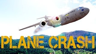 Arma 3 - PLANE CRASH, NUCLEAR EXPLOSIONS, AND MARINES VS RUSSIAN SURVIVAL