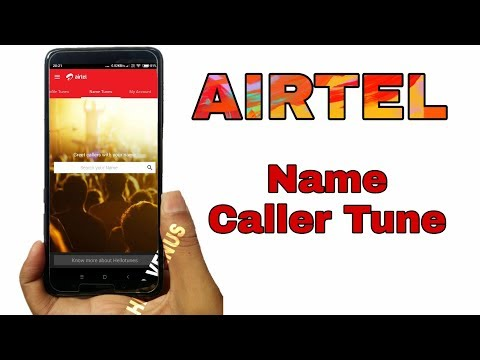 How To Set My Name Hellotunes In Airtel  How To Make My Name Caller Tune In Airtel