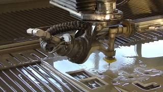 Вода режет металл - Гидроабразивная резка