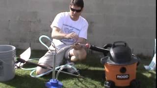 INSTRUCTION 10. Media Carburetor 4.  Mr. Hard Water Pool Tile Cleaning Trash Can Hopper