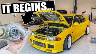 The PERFECT turbo upgrade for my Evo III GSR! - EVO III BUILD BEGINS